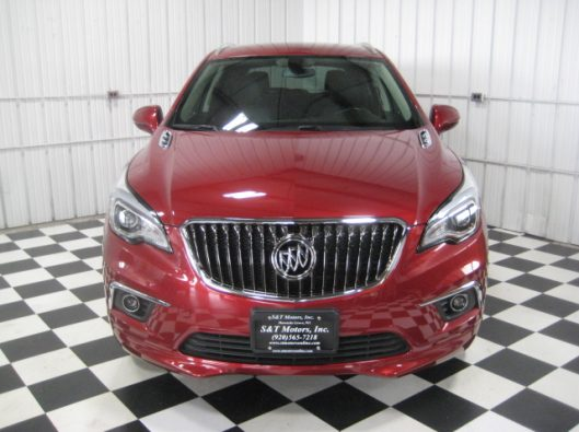 2017 Buick Envision Chili Red 005