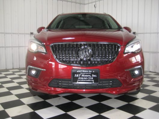 2017 Buick Envision Chili Red 006