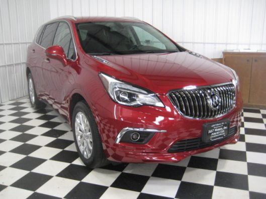 2017 Buick Envision Chili Red 007