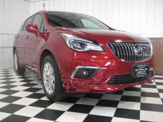 2017 Buick Envision Chili Red 008