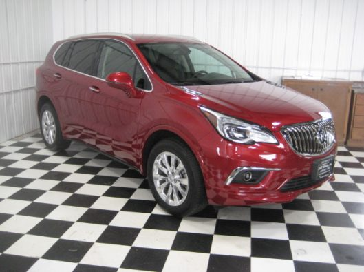 2017 Buick Envision Chili Red 009