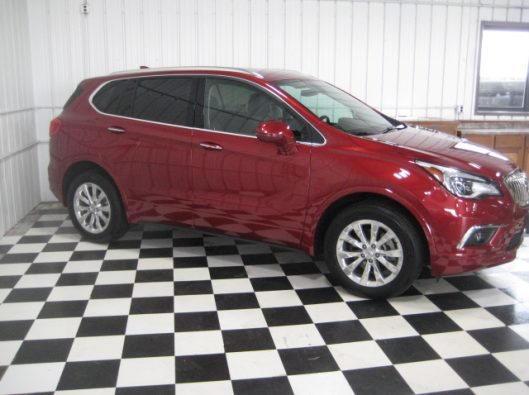2017 Buick Envision Chili Red 010