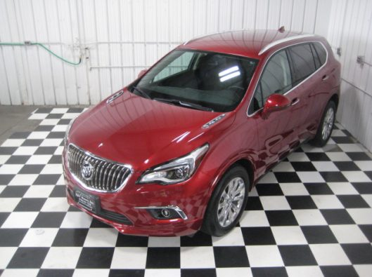 2017 Buick Envision Chili Red 012
