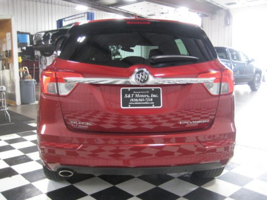 2017 Buick Envision Chili Red 013