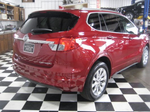 2017 Buick Envision Chili Red 014
