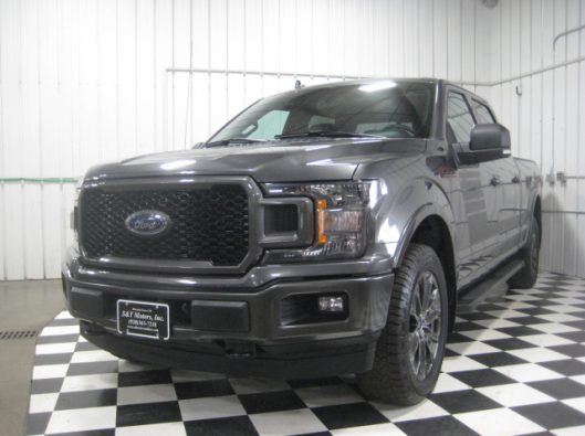 2018 Ford F150 Gray Supercrew 001