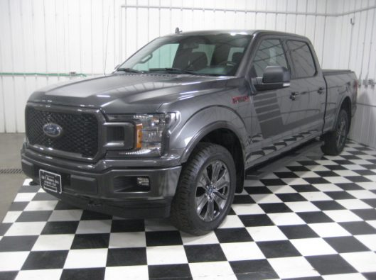 2018 Ford F150 Gray Supercrew 002