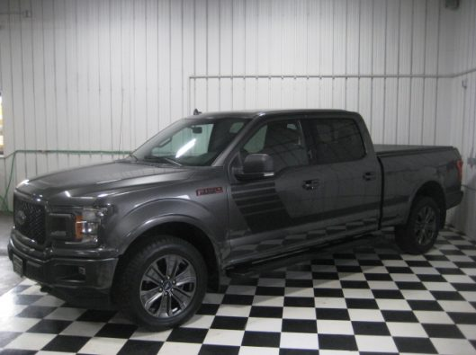 2018 Ford F150 Gray Supercrew 004