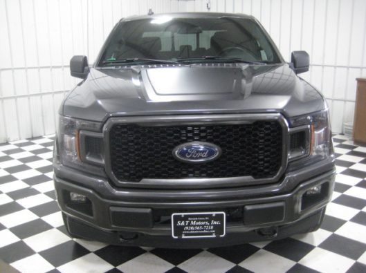2018 Ford F150 Gray Supercrew 008