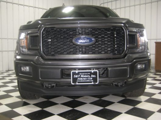 2018 Ford F150 Gray Supercrew 009