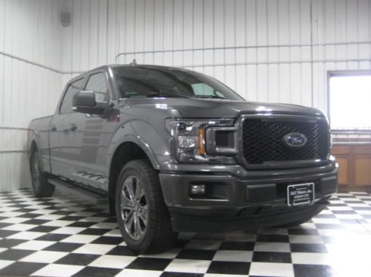 2018 Ford F150 Gray Supercrew 011