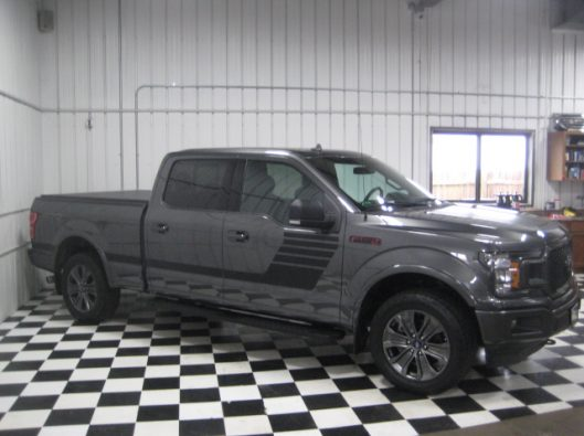2018 Ford F150 Gray Supercrew 013