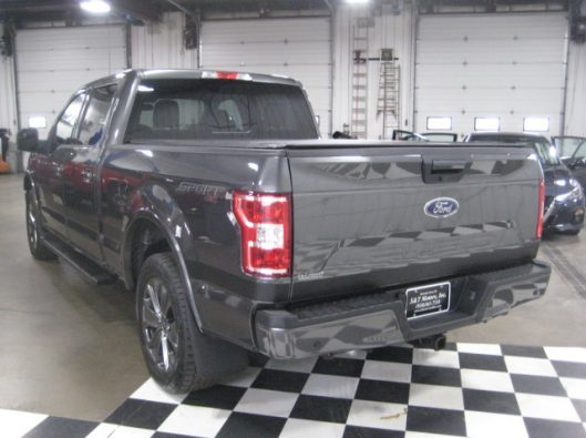 2018 Ford F150 Gray Supercrew 018