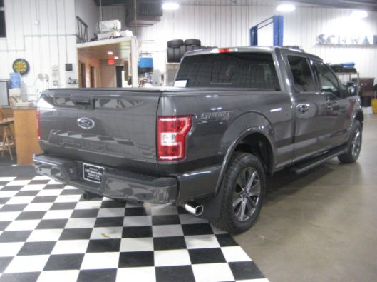 2018 Ford F150 Gray Supercrew 019