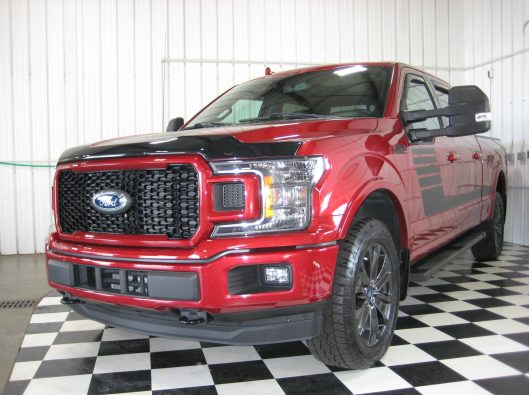 2018 Ford F150 Ruby Red 001