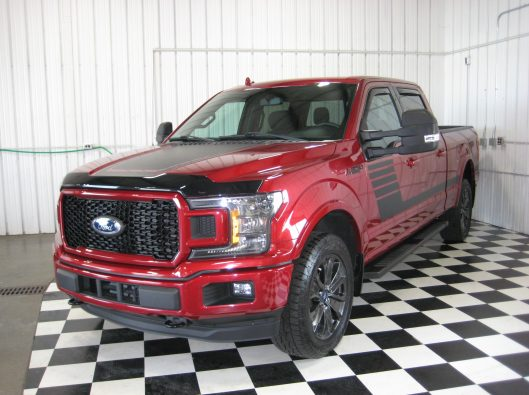 2018 Ford F150 Ruby Red 002