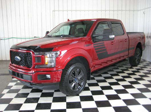 2018 Ford F150 Ruby Red 003