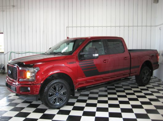 2018 Ford F150 Ruby Red 004