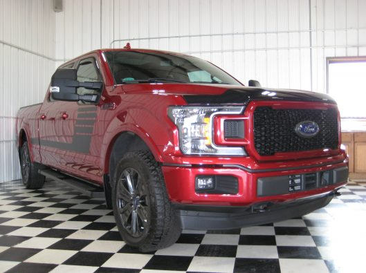 2018 Ford F150 Ruby Red 010