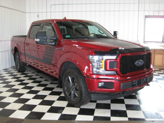 2018 Ford F150 Ruby Red 011