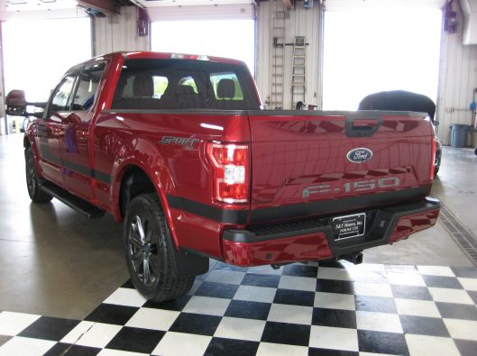 2018 Ford F150 Ruby Red 016
