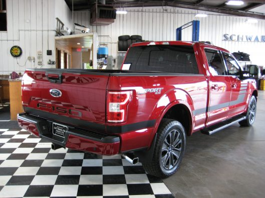 2018 Ford F150 Ruby Red 017